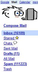 Google Mail - More Spammage