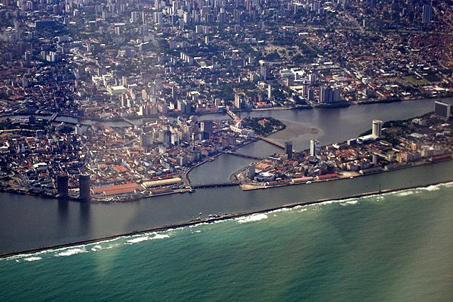 Vista aérea de Recife 2 / Aerial view of Recife 2