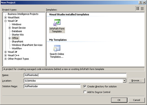 Introduction to infopath 2007 for Microsoft infopath form templates
