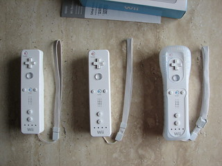 Three generations of Wii Wrist Straps