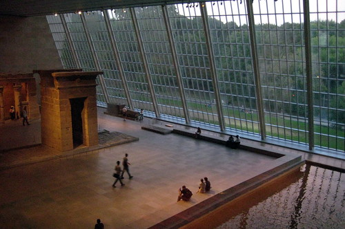NYC - Metropolitan Museum of Art - Sackler Wing - Temple of Dendur