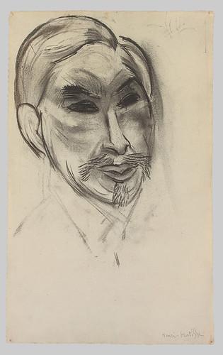 Matisse portrait of Shchukin Metropolitan Museum