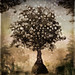 Garden of Eden: The Deluge; Sunset by Arbor Lux