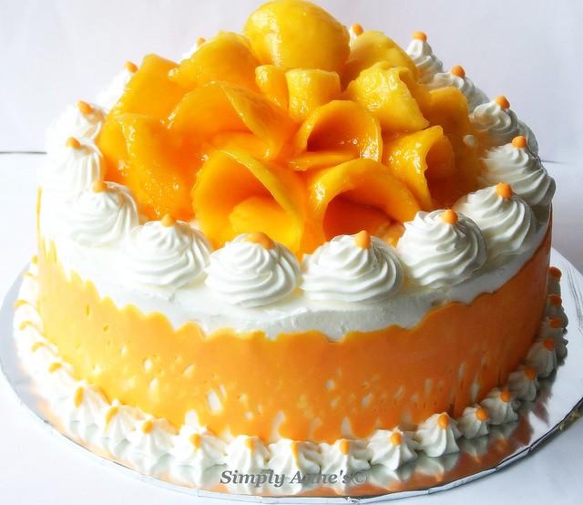 Mango party cake flickr photo sharing