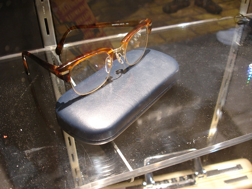 Horn Rimmed Glasses worn by Noah Bennet at the Heroes booth