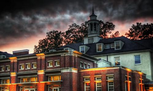 sunset georgia hall university dorm uga hdr hdri myers universityofgeorgia myershall