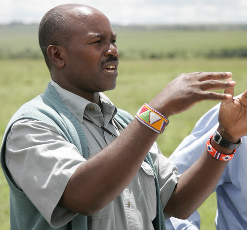 Kitengela rangeland in Kenya: Maasai scientist David Nkedianye