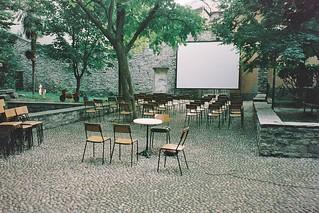 Outdoor Cinema, Como, Italy
