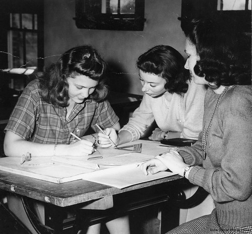 Duke Engineering Students, 1943