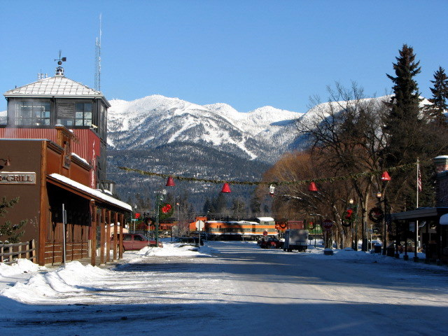 Downtown Whitefish