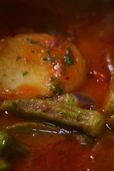 Okra o bamias o gumbo o gombo o ladyfinger specialit for Gombo ricette