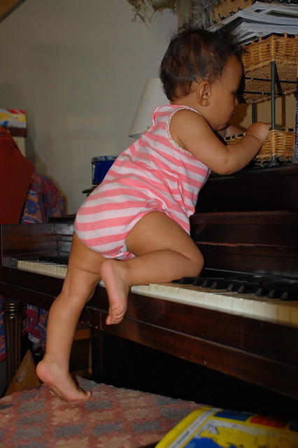 Header of the piano lesson