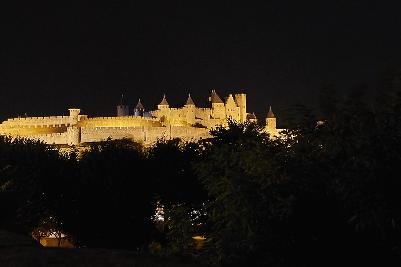Chateau Carcassonne by Night