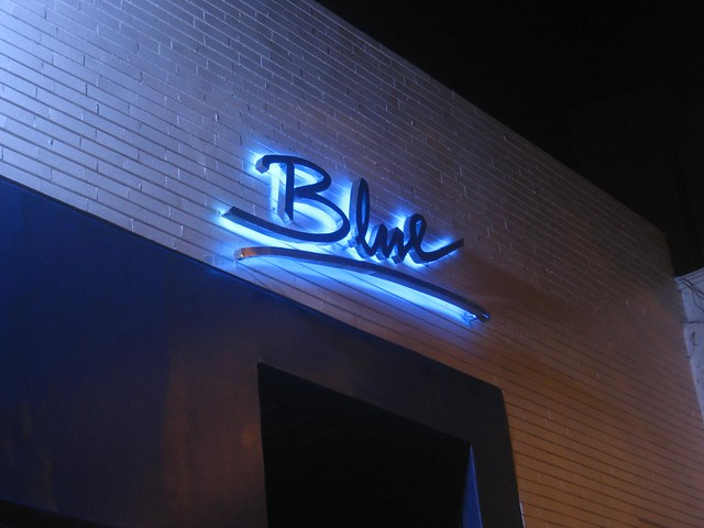 Entrance to Blue