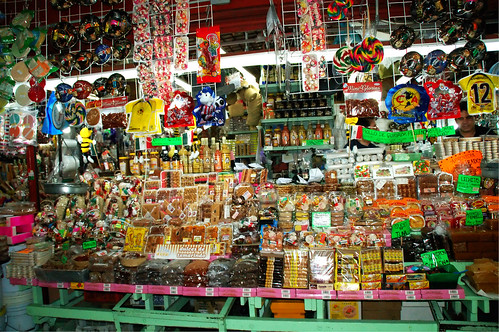 Mexican candy shop