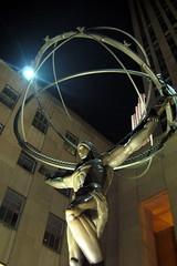 NYC - Rockefeller Plaza - Atlas