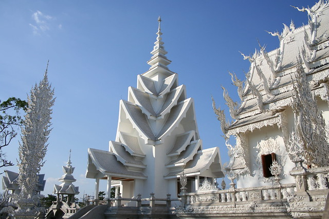homo architectus blog Wat Rong Khun tailandia templo blanco