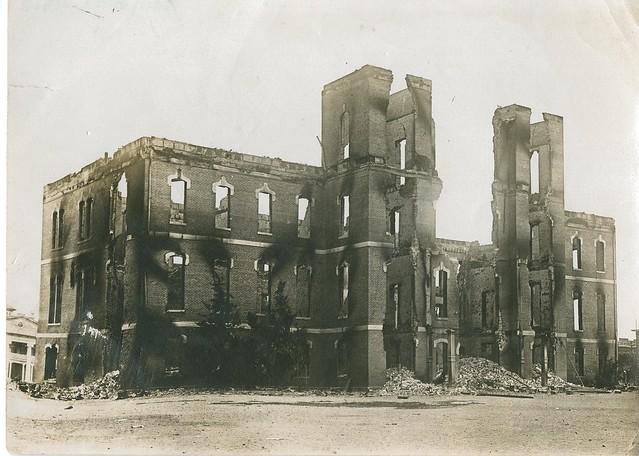 Cushing Building Fire Tulsaworld Com