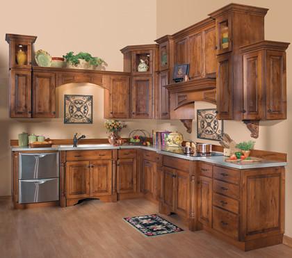 Custom kitchen cabinets starmark cabinetry the kitchen for Chestnut kitchen cabinets