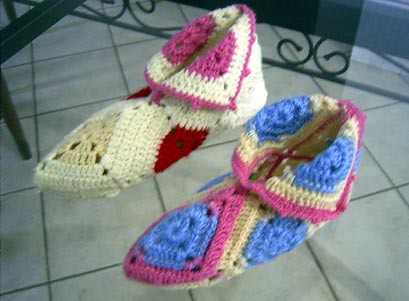 Over 250 Free Crocheted Square Patterns at AllCrafts!