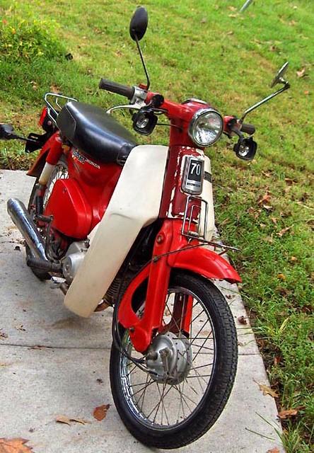 Honda Passport (Photo by Howard33)   My 1982 Honda 70 Passpo
