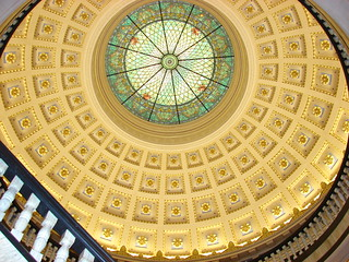 dome of the mercer county court house