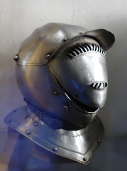 helmet, armour, art, iron, blue,