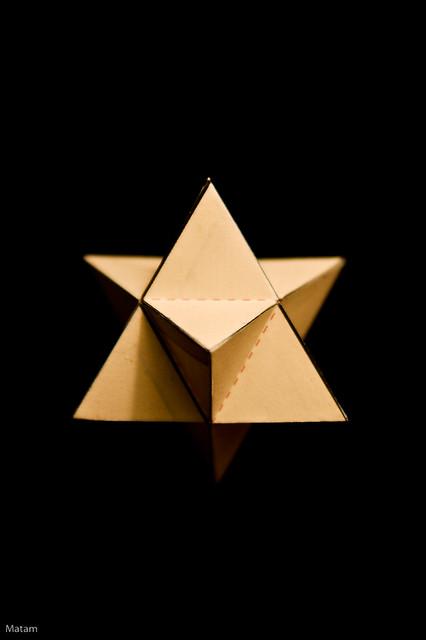 Star tetrahedron art