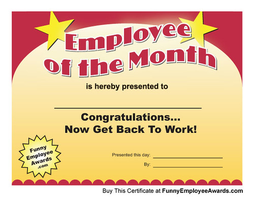 employee of the day certificate - gse.bookbinder.co, Modern powerpoint
