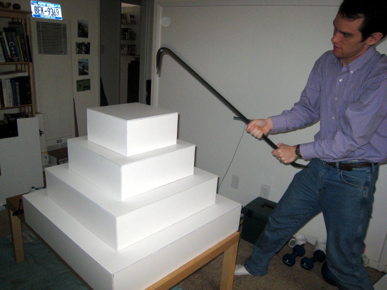 Foam Cake Stand