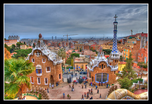 Parque Guell. Barcelona