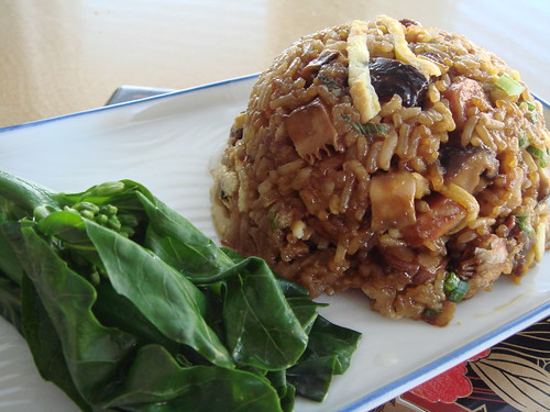 Glutinous Fried Rice With Cured Meat