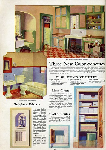 Interior Color Vintage Kitchen