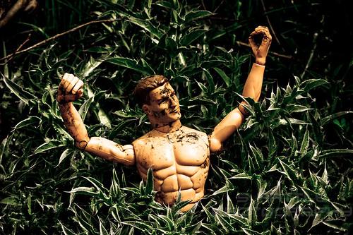 Ken makes a poor Rambo