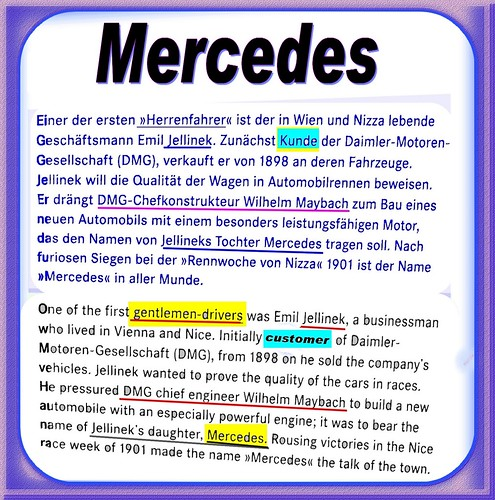 Prototype client mister mercedes fine gentlemen for Mercedes benz name origin