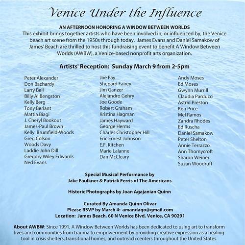 Venice Under the Influence