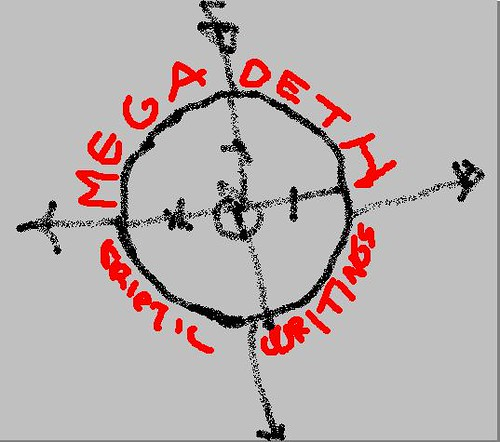 megadeth cryptic writings logo