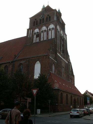 Ein grauer Tempel stand in Stralsund am Greifswalder Bodden  auf dem Tempelberg Bobbin im Kriegsjahr 1715 versuchte zum dritten Mal ein alliiertes Heer Stralsund zu erobern 106