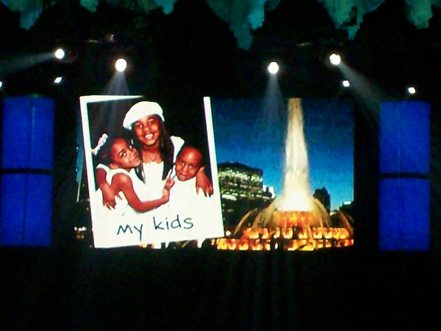 R Kelly And His Kids Kelly's Double Up Tour...