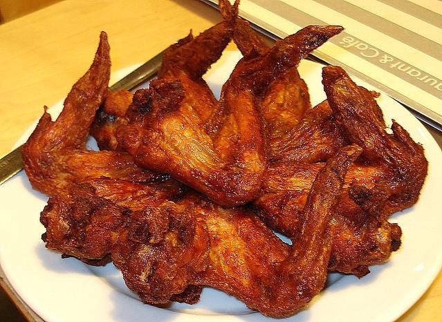 Deep-fried devil horns, I mean chicken wings! | Flickr - Photo Sharing ...