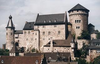 Die Burg Stolberg in Stolberg (Rhld.)