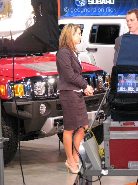 Ginger Zee Legs http://www.flickr.com/photos/82046831@N00/2267581483/