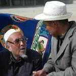 Men Talking Seriously - Xiahe, China