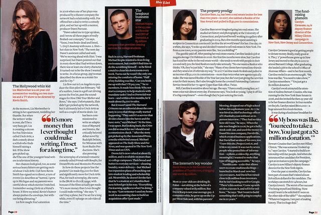 David Karp in Page 6 Magazine