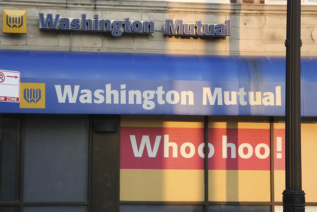 washington mutuals bank failure Guest author blog by kirsten grind, author of the lost bank: the story of washington mutual-the biggest bank failure in american history during.