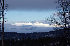 vinterkveld i Rondane