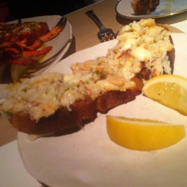 Crab toast @ ABC Kitchen   Flickr - Photo Sharing!