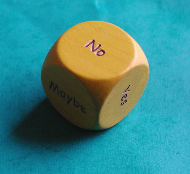 indecision dice from Flickr via Wylio