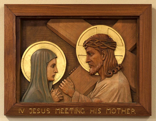 All Souls Roman Catholic Church, in Overland, Missouri, USA - station of the cross.jpg