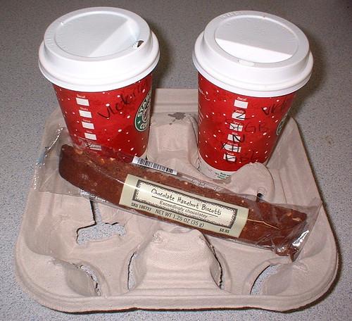 Day 3/366 - coffee & biscotti